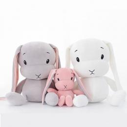 50 cm 30 cm Śliczny królik pluszowe zabawki Króliczek Nadziewane i Pluszowe Zwierząt Zabawki Dla Dzieci lalki dla dzieci towarzy