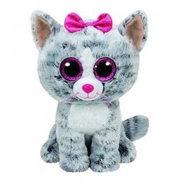 Ty Beanie Boos Szary Kot jednorożec Pluszowe Zabawki Lalki Dla Dzieci Dziewczyna Prezent Urodzinowy Nadziewane i Pluszowe Zwierz