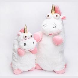 56 cm 40 cm 18 cm 15 cm Fluffy Unicorn Pluszowe Zabawki Miękkie Nadziewane Zwierząt Unicorn Plush Lalki Juguetes de Peluches Beb