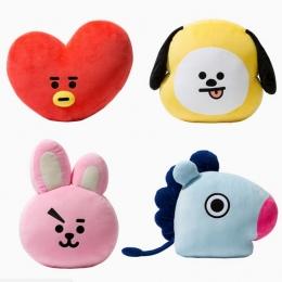 Cute Cartoon BTS Bangtan Boys BT21 Plush Doll Toy Rzuć Pillow Poduszka Chłopcy Rzut Poduszki Idealne dla Sofa Home Decor, 11.8 '