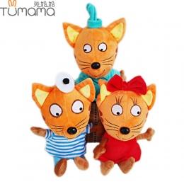 Rosja Tumama Szczęśliwy Kotek Miękkie i Pluszowe Kota Zabawki Pluszowe Cartoon Pluszaki Miękkie Lalki Zabawki Prezenty dla Dziec