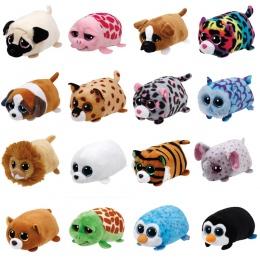 TY Beanie Boo malusieńki tys Pluszowe-Icy Uszczelniającego 9 cm Ty Beanie Boos Big Eyes Pluszowe Zabawki Lalki Fioletowy Panda D