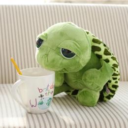 20 cm Wypchane Zwierzęta Pluszowe Super Zielony Wielkie Oczy WY Żółw Żółw Wypchanych Zwierząt Pluszowa Zabawka Dla Dziecka Preze