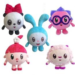 """5 """"15-20 cm Cartoon Malyshariki Smeshariki Nadziewane zabawka Jeż Kikoriki Nyushenka pandochka Pluszowe Zabawki dla dzieci Preze"""