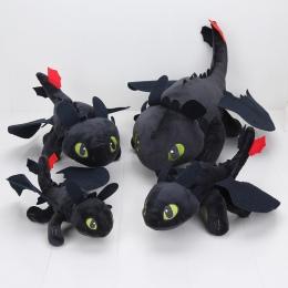 23-55 cm Anime Jak Wytresować Smoka Toothless pluszowe zabawki pluszowe Noc Fury Pluszowe wypchanych zwierząt doll zabawki Świąt