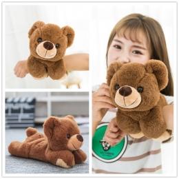 Najgorętsze transformacji Magia Wrist Bear & Panda & Słoń Pluszowe Zabawki Jakości bawełna wypchanych zwierząt zabawki Pazur zab