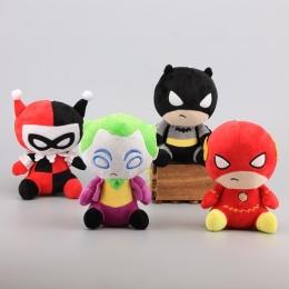4 Style Superhero Figury Justice League Pluszowe Zabawki Flash & Batman Joker Harleen Quinzel Wypchane Lalki Dla Dzieci Prezent