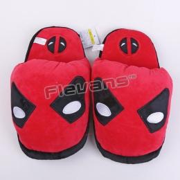 Deadpool Superhero Batman Superman Spiderman Pluszowe Buty Zabawki Dom Zimowe Kapcie Domu dla Dzieci Kobiety Mężczyźni