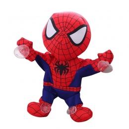 Spiderman electic zabawki Avengers super hero Batman Samochodów ornament Rysunek Zabawki Muzyczne Elektryczne Spider-Man Miękkie