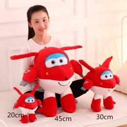 Super Wings Superwings Jett Cartoon Zabawki Pluszowe Małe Lalki Dla Dzieci 20 cm 30 cm 45 cm