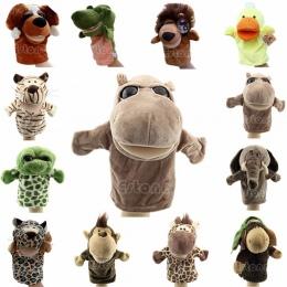 Dziecko Dzieci Śliczne Plush Welurowa Zwierzęta Pacynki Eleganckie Wzory Pomoc Nauka Zabawki Lalki