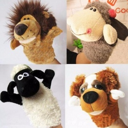 Anime Historia Nauki Dziecko Kid Dzieci Zoo Puppets Pluszowe Zabawki Ręka Rękawiczka Śliczne Kawaii Prezent Darmowa Wysyłka