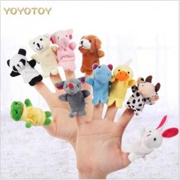 Śliczne Gorąca Sprzedaż Zwierząt Ręczne Puppets Finger Zabawki Dla Dzieci Lalki Pluszowe Zabawki Lalki Dla Bedtime Historie Boże