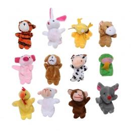 10/12 sztuk Palec Lalek Zabawki Pluszowe Chinese Zodiac Biologicznej Lalki Dla Dziecka Prezent Urodzinowy Zwierząt Kreskówki Dla