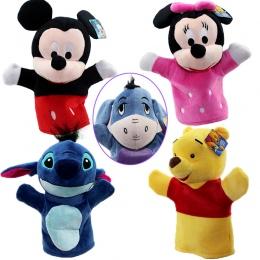 Hot Sprzedaży 24 cm Dziecko Dziewczynka Plush Cartoon Zwierzęta Pacynka kreatywne Projekty Pomoc Nauka Zabawki Dla Dziecka Preze