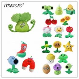 LYDBAOBO 1 PC 14 ~ 18 CM 20 Style Śliczne Plants VS Zombies Lalki miękkie Wypchane Zabawki Pluszowe Dla Dzieci Piękne Zabawki Pr