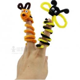 100 sztuk/zestaw montessori edukacyjne pluszowe kij i zabawki dla dzieci handmade art diy materiały shilly-stick stick i rzemios