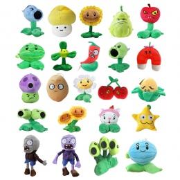 1 pc 20 style 13-20 cm Plants vs Zombies pluszowe zabawki wypchane miękkie Pluszowe wisiorek gry lalki dla dzieci dzieci dziecko