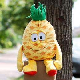 """Hot Wiele Stylów Wybrane Nowy ananas Owoce Warzywa Cherry Starwberry blueberry 9 """"Miękkie Plush Doll Toy Obiektu zdjęcie"""