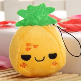 7 cm ananas Mini Lalka Wisiorek dla dziecka kołyska Najlepiej Niech dziecko zabawki edukacyjne dzieci wiedzą, owoce i warzywa