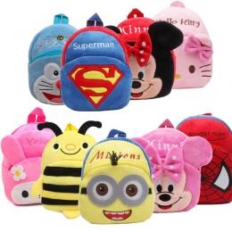 Nowy Cute Cartoon Dzieci Plecak Pluszowy Zabawki Mini Tornister Prezenty Dla Dzieci Przedszkole Chłopiec Dziewczynka Uczeń Torby