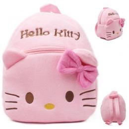 2018 Hello Kitty Dla Dzieci Maluch Dzieci Chłopiec Dziewczyna Cartoon Nadziewane Pluszowy Plecak Tornister Torba Na Ramię Plecak