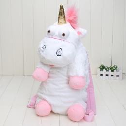 40-57 cm Jednorożec Plecak jednorożec torba pluszowe jednorożce zabawka plecak zabawki pluszowe zabawki pluszowe lalki wypchane