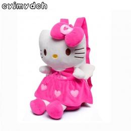 Cyjmydch Miękkie Pluszowe Plecaki Dla Dziewczyn Lalki Wypchane Zabawki Rose Red Dzieci Plecak Dla Dzieci hello kitty Torby Szkol