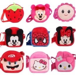 New kids Mini torba Cartoon projekt piękny Mickey Minnie pluszowe plecak dla chłopców i dziewcząt