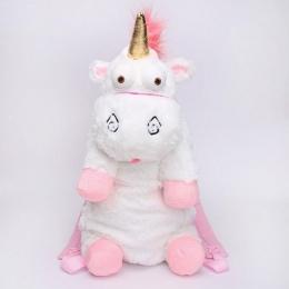 45 cm I 60 cm Fluffy Unicorn Plush Ramiona Torba Zwierząt Miękkie Nadziewane Plush Plecak Torba Dla Dzieci Prezent