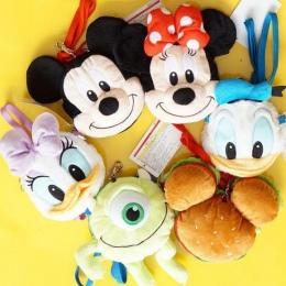 Cute Cartoon Mickey Minnie Mouse Kaczor donald Daisy Plush Plecak Kawaii Zwierzęta Torby Dziewczyny Torba Na Ramię Dla Dzieci Pr