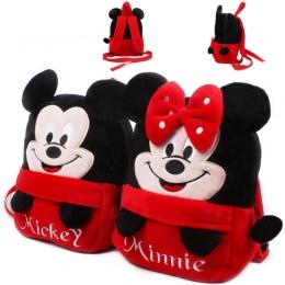 2017 piękny Mickey Minnie dziecko dziewcząt shool plecak mochila torby dla dzieci pluszowy plecak mini torby na Urodziny prezent
