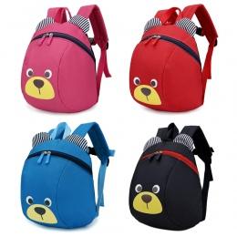 Cartoon dzieci Plecak torby szkolne śliczna Anti-lost dzieci plecak dla dzieci torby Przechowywania Zabawek Dla Dzieci Z Trakcji