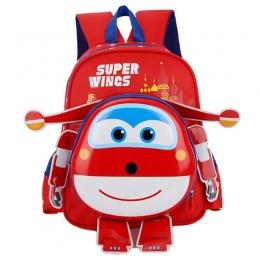Super Skrzydła Mini Samolot Robot PC Super Animacja Skrzydło Ramiona Torby Plecaki Dla Dzieci Plecak Dla Dzieci Prezent Dla Dzie