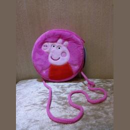 Oryginalne świnka peppa pluszowe torby Pakiet kieszeń 18*22 cm śliczne george peppa Ciągnięcie liny kieszeń torba storage pouch