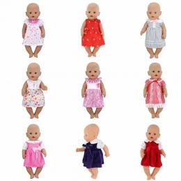 Nowa Sukienka Zużycie Dla 43 cm Baby Born Zapf Lalki Reborn Babies Ubrania
