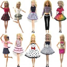 NK 10 zestaw/partia Księżniczka Doll Dress Noble Party Suknia Dla Lalka Barbie Fashion Design Strój Najlepszy Prezent Dla Dziewc