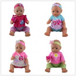4 kolor wybierz 1 = pasmo Włosów + płaszcz + spodnie + Sutek lalka ubrania Nosić fit 43 cm Dziecko urodzony zapf, dzieci najleps