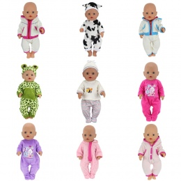Lalka Skocz Suits Nadające Się Do 43 cm Baby Born Zapf Lalki Reborn Baby Ubrania I 17 cal Lalki Akcesoria