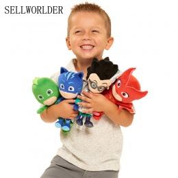 PJ 4 Style Maskująca Oryginalny Bohater Kreskówki Kot Chłopiec i Gekko & Owlette Movie Pluszowe Lalki Wypchane Zabawki