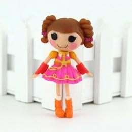 1 sztuk 3 Cal Oryginalny MGA Lalaloopsy Lalki Mini Lalki Dla dziewczyny Zabawki Playhouse Każdy Unikalne