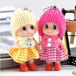 2018 Nowy 1 sztuk Dla Dzieci Zabawki Miękkie Interaktywny Lalki Dla Dzieci Zabawki Mini Lalki Dla dziewczynek i chłopców Lalki W