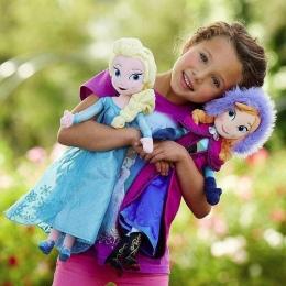50 CM Snow Queen Elsa Doll Księżniczka Anna Elsa Lalki Zabawki Wypchane Pluszowe Zabawki Dla Dzieci Prezent