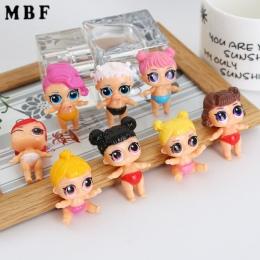 Zabawki Dla Dzieci Dziewczyny Dzieci 8 Stlys Losowy Wysyłania Wysokość Około 4 cm MBF LOL Lalki