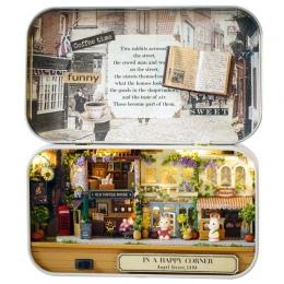 Drewniane Meble Dla Lalek Miniaturowe Zabawki DIY miniaturowe Dollhouse Meble Zabawki dla Dzieci Boże Narodzenie i urodziny prez