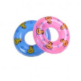 1 Sztuk Mini Pływanie Boja Lifebelt Pierścień Dla Lalka Barbie Akcesoria Dla lalek zabawki, Zabawki Dla Dzieci najlepszy Prezent