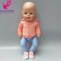 18 cal lalki sportowe outfit set Fit 43 cm Zapf Lalki Baby Born ubrania Nosić strój dzieci prezenty