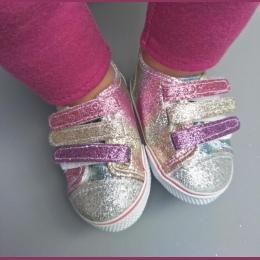 Cekiny 7 cm Buty Pasuje 18 cal zapf Lalki 43 CM baby born lalki Reborn Baby Doll buty dla American girl doll buty Darmo wysyłka