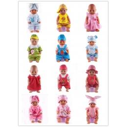 14 style doll ubrania odpowiednie do 43 cm born baby Zapf lalki wysłać dzieci najlepszy prezent na Boże Narodzenie lalka akcesor