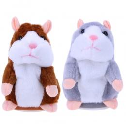Dzieci Mówić Chomika Pluszowe Zabawki Dźwiękowe Zwierzęta Elektroniczne Zabawki Dla Dzieci Słodkie Pluszowe Lalki Mówiąc Chomika